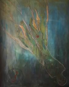 Water Thinking / 150 x 122 cm